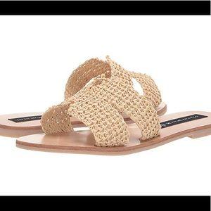 Steven Raffia Greece sandal
